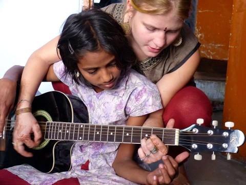 Kinder Hilfe Indien